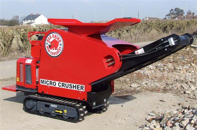 Concrete Crusher Hire