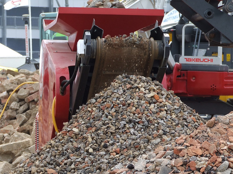 Concrete Crusher Hire Midlands